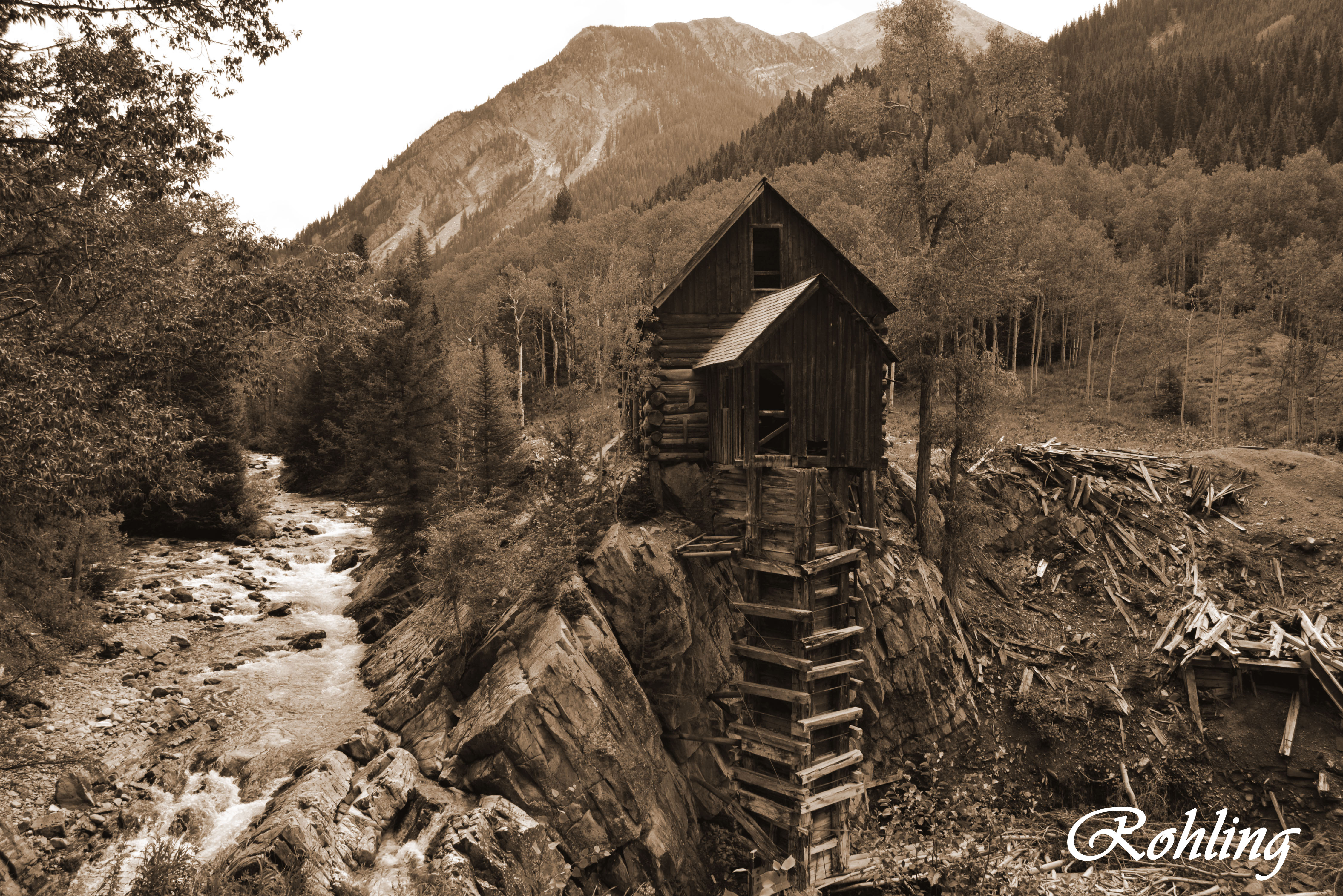 Crystal Mill, Marble CO