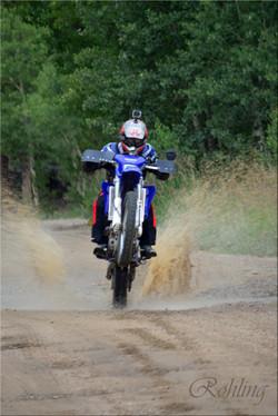 Motorcycle splash