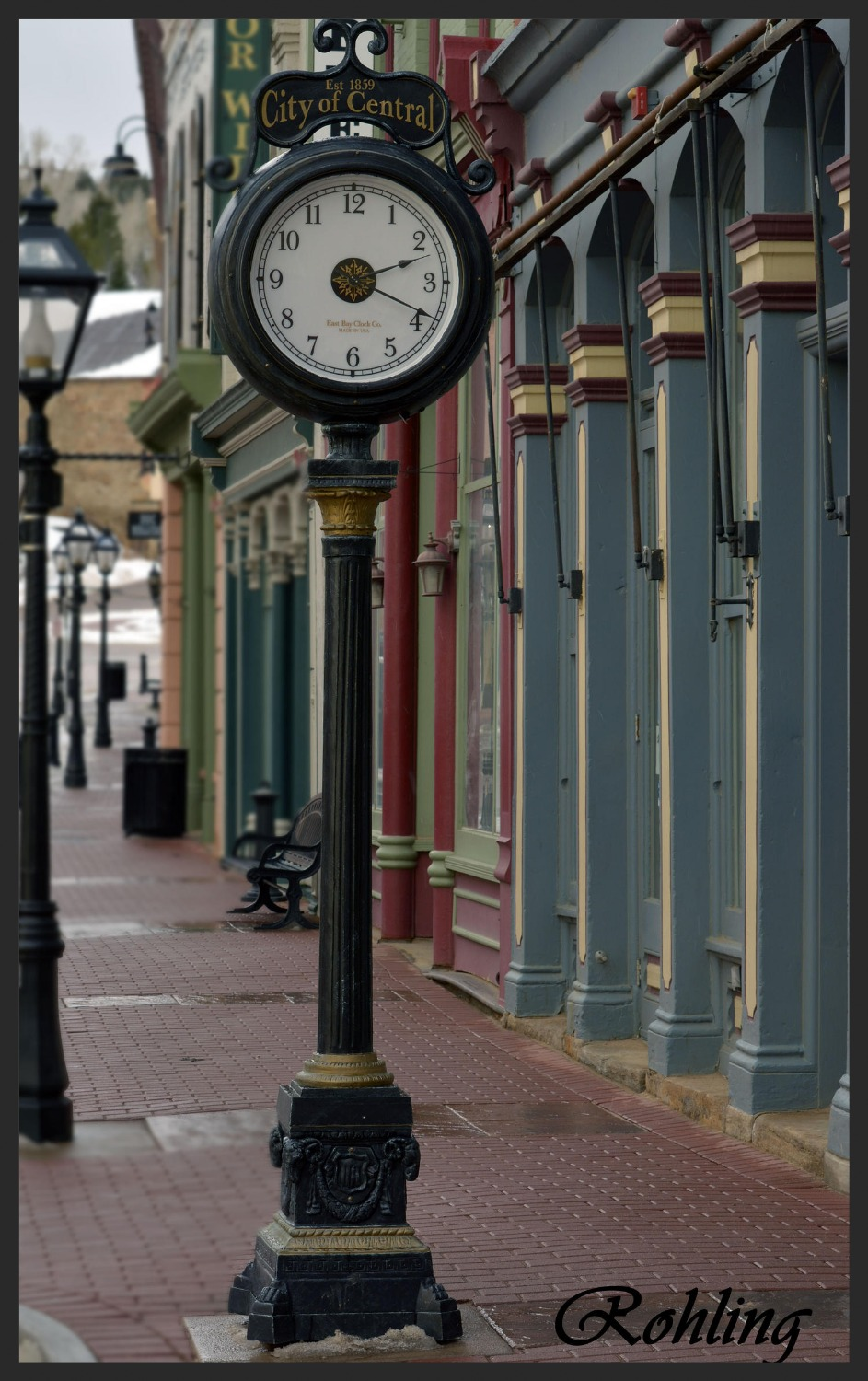 Central City Time Clock