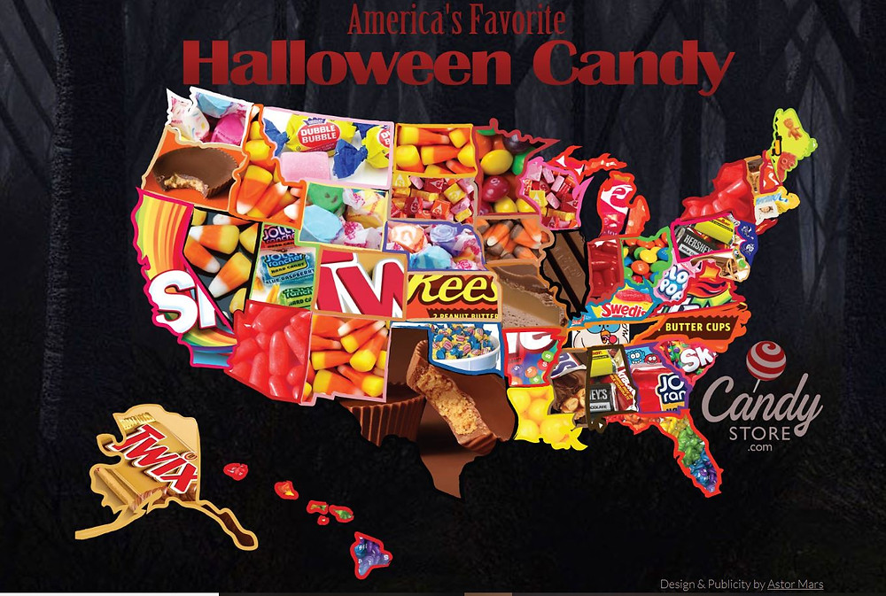 What's your state's favorite candy?  Is it your favorite too?