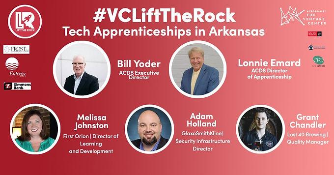 VCLift The Rock | Tech Apprenticeships in Arkansas