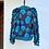Thumbnail: Bomber - Flores en azul