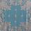 Thumbnail: Mantón Flor de Ibi celeste bordado en blanco