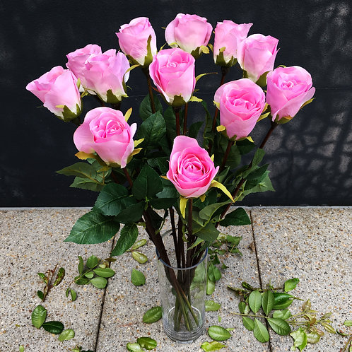 Rose Bud Bouquet - Pink