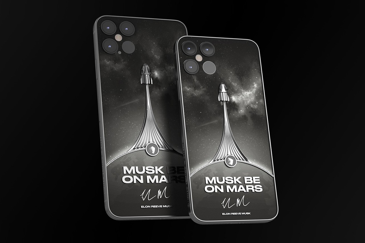 Musk be on Mars Inspired iPhone