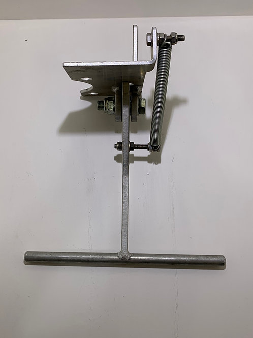 """IHS-014 -Bottom load gate - L/H mount  - 3"""" ansi - electronic switch"""