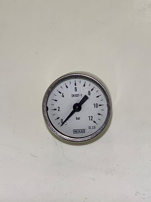GAU-005B - Small gauge for filter regulator lubricator Stainless Steel