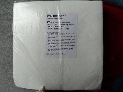 SKA 005 - Envirosorb Absorbent Spill Pads 45 x 45cm - 50 Pack