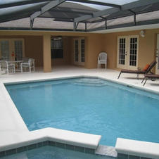 Pool Deck - Access From Master Bed, Kitchen, Living & Washroom