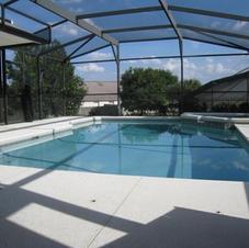 Enclosed Heated Pool