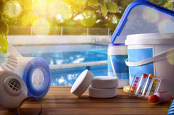 Swimming pool service and equipment with