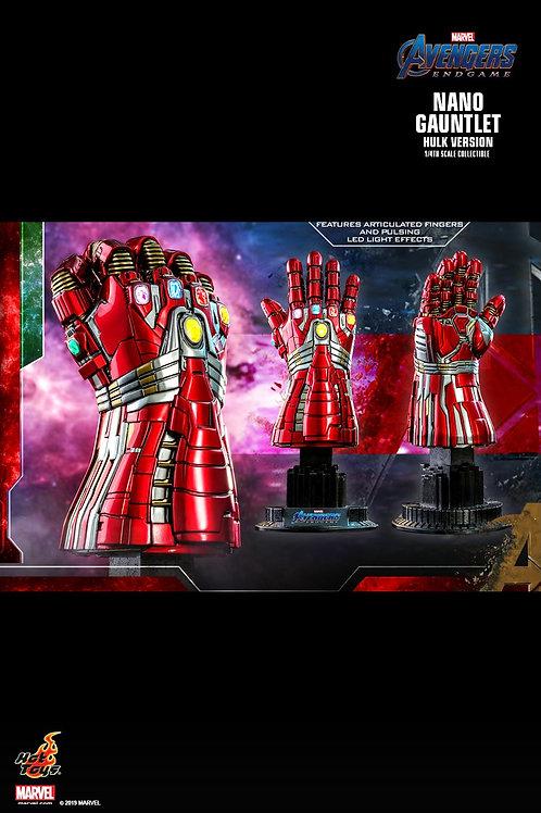 Hot Toys ACS009 Avengers: Endgame  Nano Gauntlet (Hulk Version)  1/4th scale Col