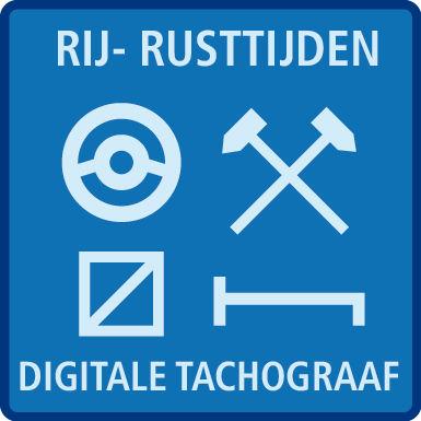 Rij- rusttijden & tacho (cat2) C+D