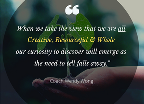 We are all CREATIVE, RESOURCEFUL and WHOLE