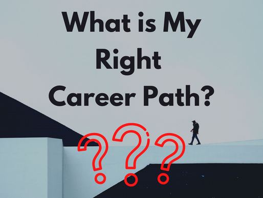 What Is My Right Career Path?