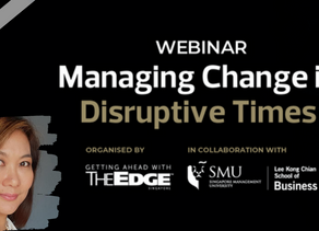 Managing Change in Disruptive Times - The Future of Work