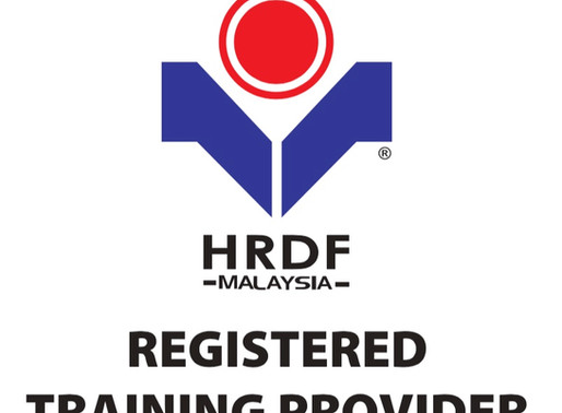 We are HRDF Registered!