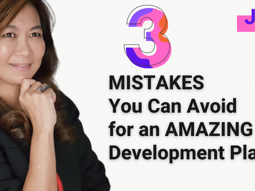 3 Common Mistakes You Can Avoid for an AMAZING Development Plan