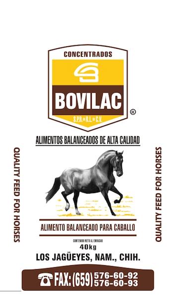 Alimento Caballo Bovilac