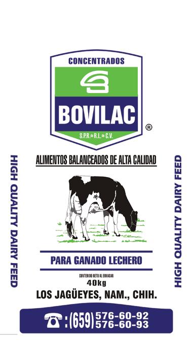 Alimento de Vaca Lechera Bovilac