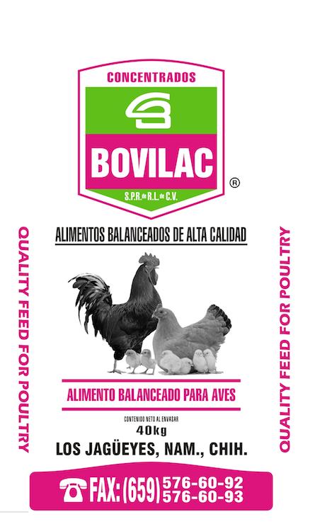 Alimentos para Aves Bovilac
