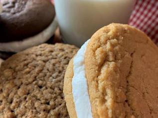 Peanut Butter Whoopie Pie, Oatmeal