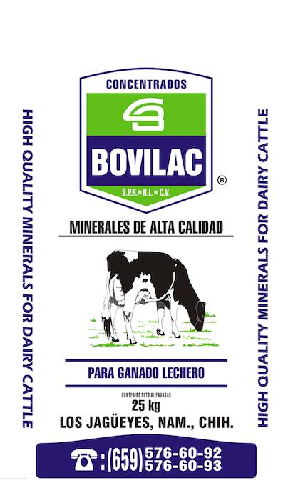 Minerales para Vaca Lechera Bovilac