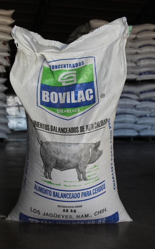 Alimentos Concentrados para Cerdo Bovilac