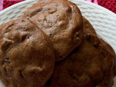 Sugar free raisin&date cookies