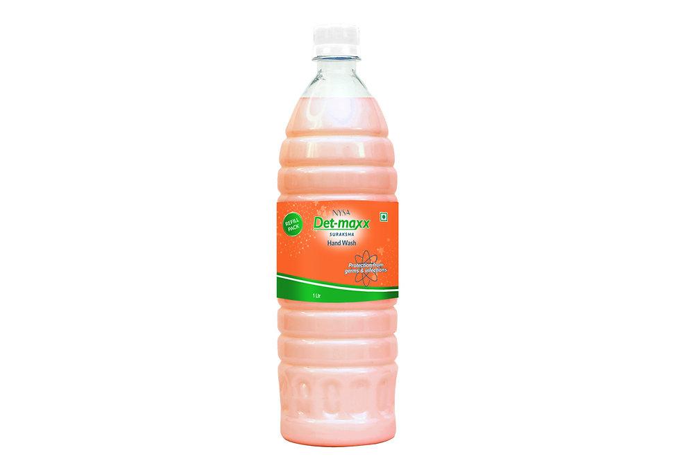Nysa Det Maxx Handwash (1 Ltr) Refill Pack
