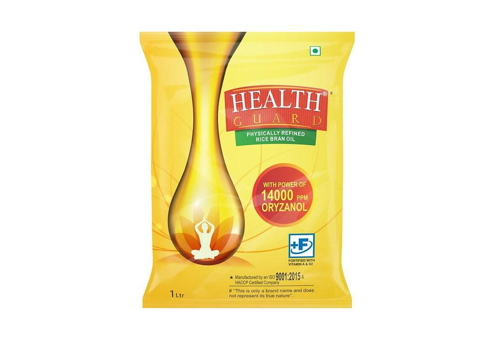 HEALTH GUARD PHYSICALLY REFINEDRICE BRAN OIL