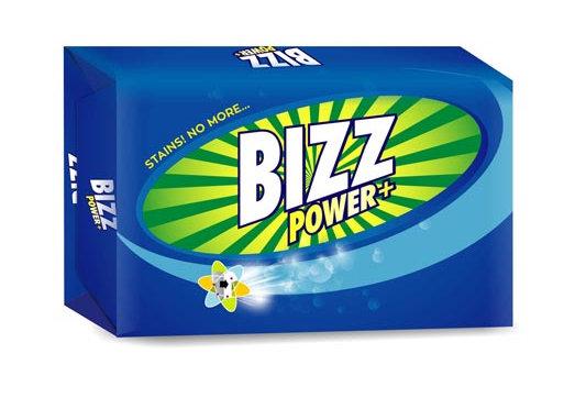 Bizz Power Plus Detergent Cake