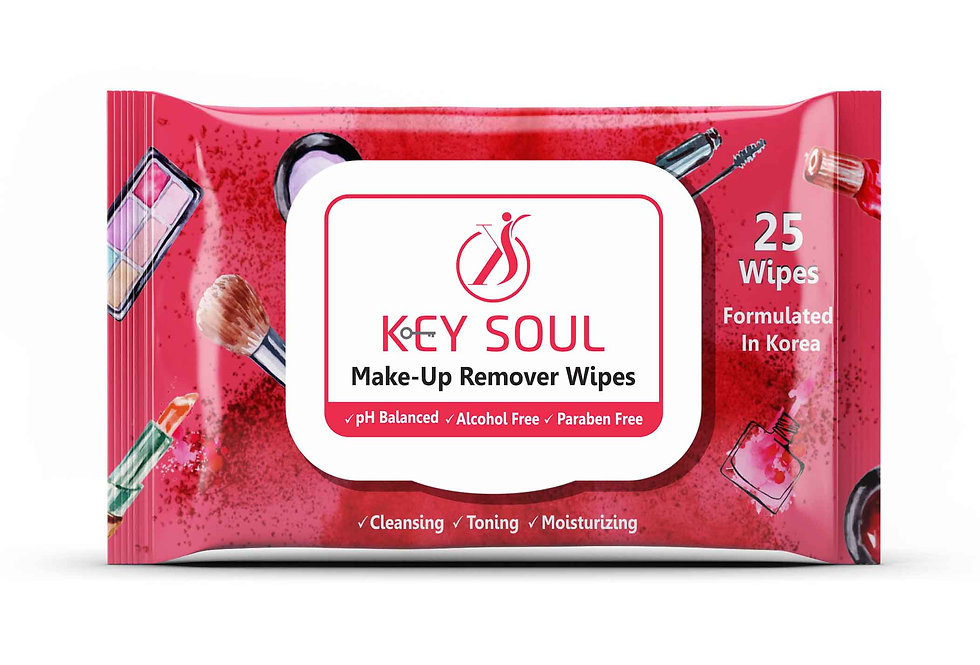 Keysoul Make Up Remover Wipes