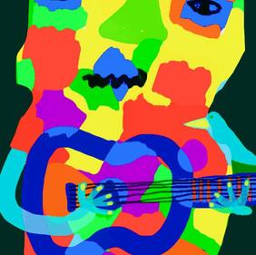 Happy Bluesman