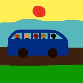 Bussen er kørt