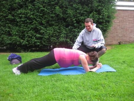 Prenatal Fitness Series - # 1 The Plank