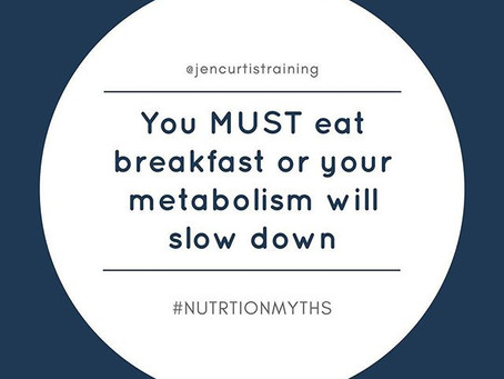 Is Breakfast the Most Important Meal of the Day? // Nutrition Myths Series