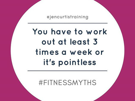 You MUST Work Out 3 Times a Week // Fitness Myths Series