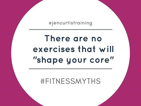 """There are NO exercises that will """"shape"""" your core // Fitness Myths"""