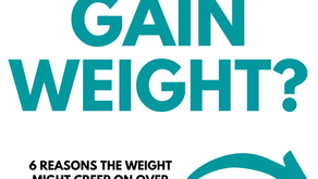 Why do mums gain weight?