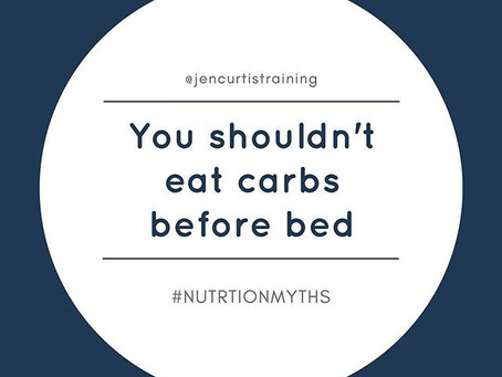 You Shouldn't Eat Carbs Before Bed // Nutrition Myths