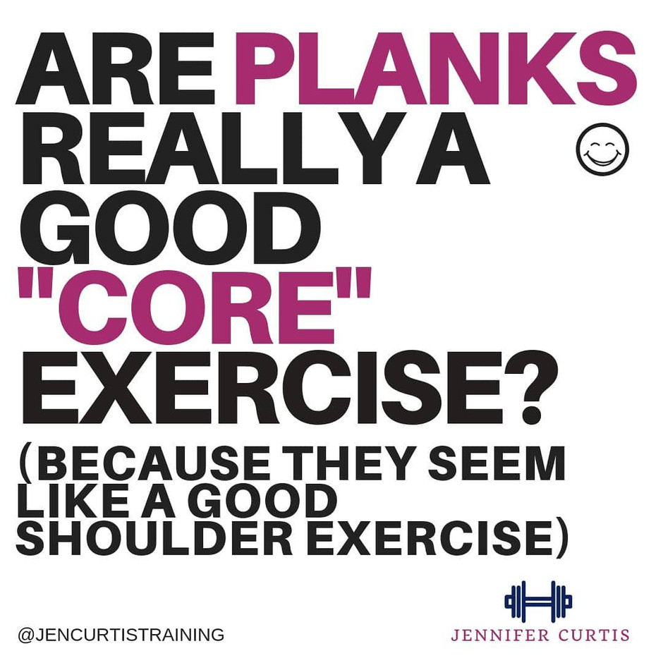 "Are Planks Really a good ""Core"" Exercise?"