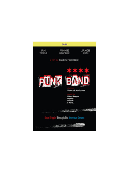 Punk Band Film - DVD in 5.1 Surround Sound