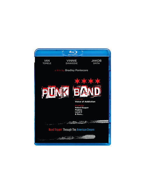 Punk Band Film - Blu Ray in 5.1 Surround Sound