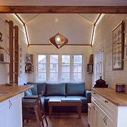 I ett Tiny House finns det gott om plats för lugn och ro