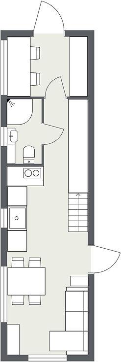 Planlösning Tiny Giant Rika plan 1