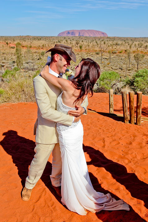 wedding at uluru