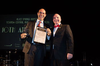 tourism central australia 2016 new business award