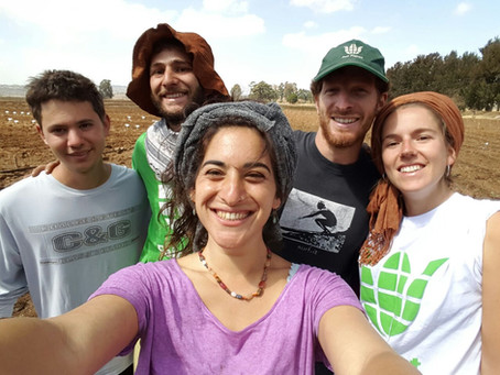 An interview with - Yael Moskovich, a volunteer in Fair Planet - Hebrew