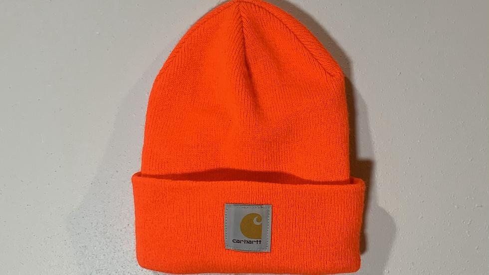 Orange Carhartt Beanie